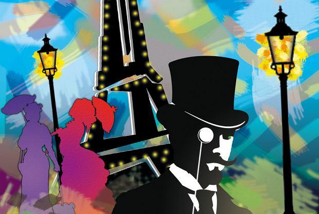 plakat spektaklu 'Milord de Paris', premiera już w styczniu