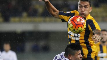 Hellas Werona - Fiorentina 0:2. Bosko Jankovic, Facundo Roncaglia