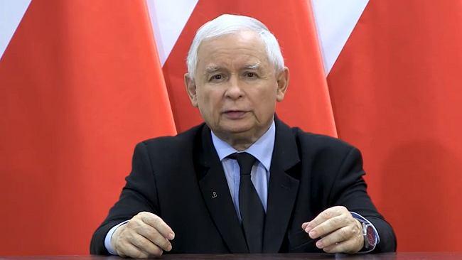 """Wicepremier i prezes PiS Jarosław Kaczyński wydał oświadczenie. """"Przestępstwo, nihilizm"""""""
