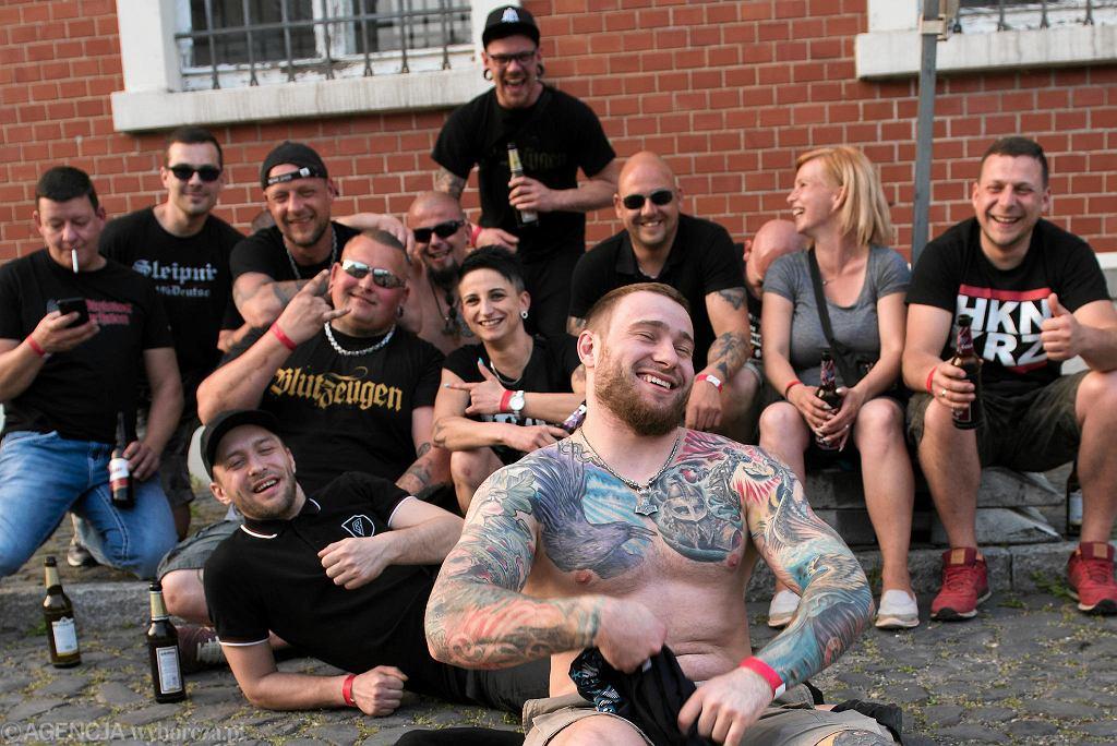 Na festiwal 'Tarcza i Miecz' przyjechało do Ostritz 750 prawicowych ekstremistów