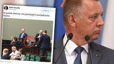Marian Banaś, szef NIK, pojawił się w Sejmie