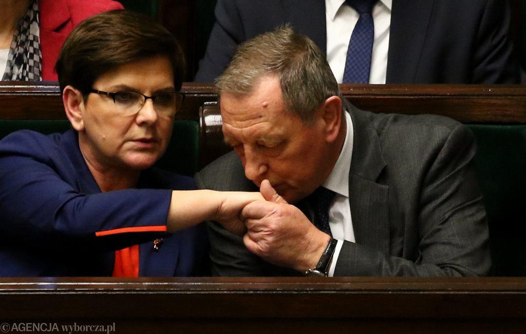 Minister 'eksploatacji' środowiska w rządzie PiS Jan Szyszko
