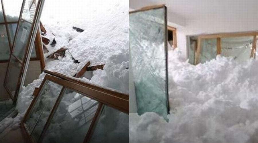 Potężna lawina w Niemczech wdarła się do hotelu