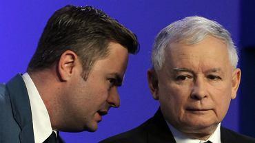Adam Hofman, Jarosław Kaczyński, 2014 r.