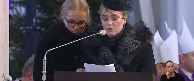 Żona Magdalena żegna Pawła Adamowicza. ''Cisza nie może oznaczać milczenia''