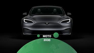 Tesla Model S jest wyposażona w układ 'Smart Summon'
