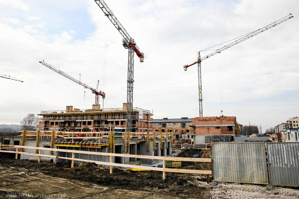 Kliny: budowa bloków w ramach programu Mieszkanie Plus