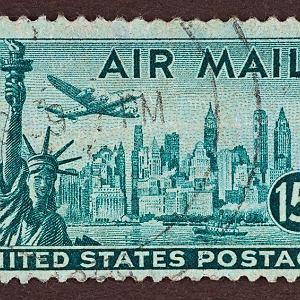 Znaczek pocztowy Nowy Jork