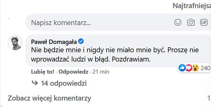 Paweł Domagała, 'Pytanie na śniadanie'