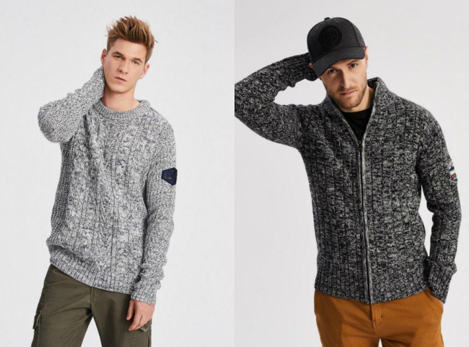 swetry męskie diverse