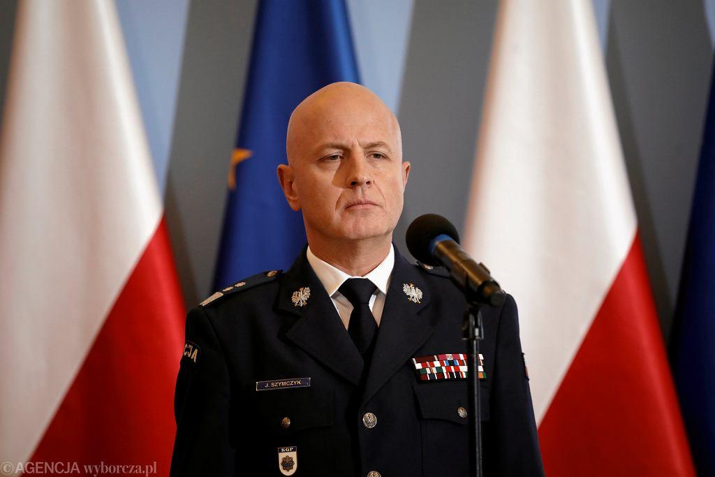 Gen. Jarosław Szymczyk, komendant główny policji
