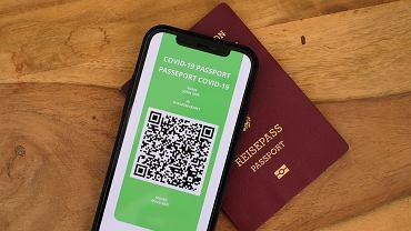 Paszport covidowy (zdjęcie ilustracyjne)