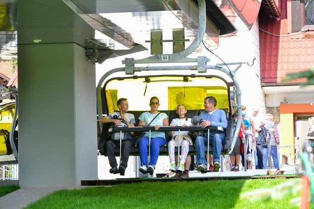 Zdjęcie numer 5 w galerii - Zmodernizowana kolejka na Skrzyczne już wozi pasażerów (ZDJĘCIA)
