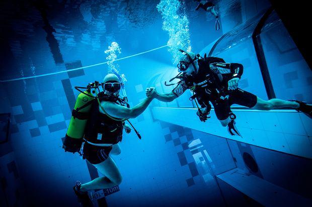 Deepspot pod Warszawą oficjalnie otwarty. Można nurkować w najgłębszym basenie świata