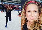 Roztańczona Joanna Liszowska świętowała urodziny na lodowisku. Fani zachwycają się urodą i sylwetką aktorki