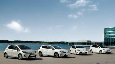 Toyota - modele z napędem hybrydowym