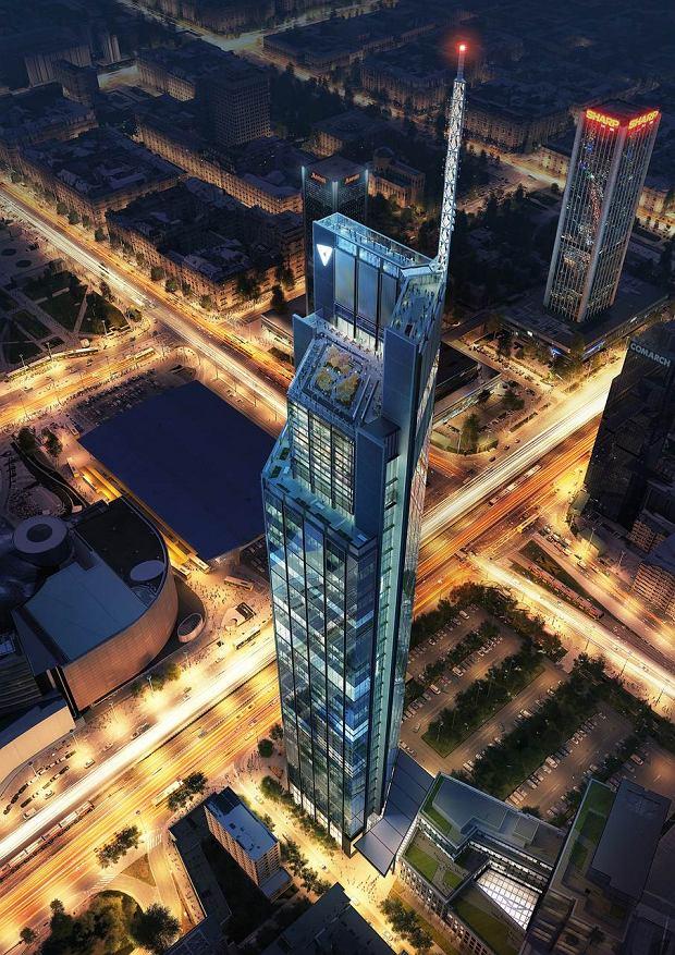 Varso Tower ul. Chmielna 69, Wola, Projekt Foster + Partners