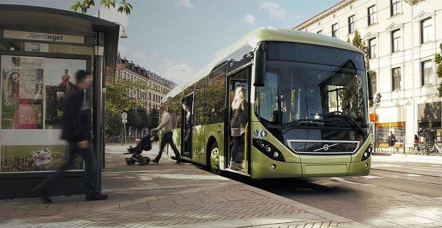 W Koninie trwają testy hybrydowego autobusu Volvo