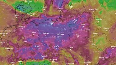 Ostrzeżenia IMGW przed silnym wiatrem