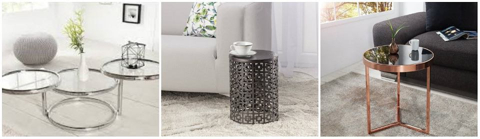 Stolik kawowy w stylu modern