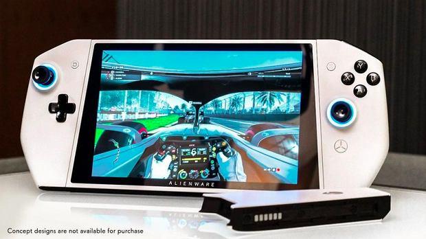 Alienware UFO, czyli gamingowy PC w obudowie Switcha