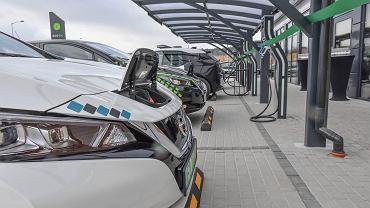 Stacja Ekoen w zielonogórskim Nowym Kisielinie dla samochodów elektrycznych. Na początku 2019 r. uruchomiła ją Ekoenergetyka Polska