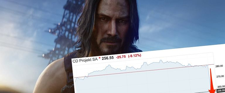 Opóźniony Cyberpunk 2077 uderzył w CD Projekt. Firma mocno traci na giełdzie