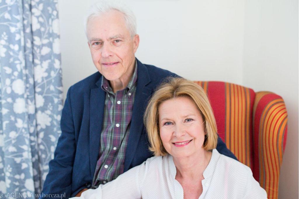Barbara Bursztynowicz z mężem Jackiem Bursztynowiczem