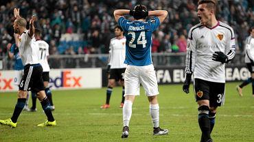 Lech Poznań - FC Basel 0:1. Dawid Kownacki