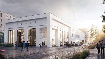 Wizualizacja nowego budynku Teatru Miejskiego w Gdyni