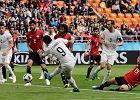 Mistrzostwa świata w piłce nożnej.  Egipt - Urugwaj. Słaby Suarez musi podziękować Gimenezowi