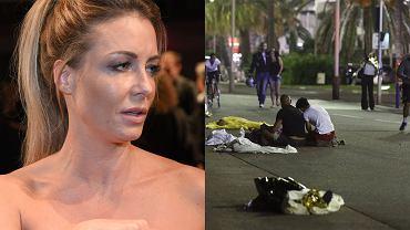 Małgorzata Rozenek, ulica w Nicei po zamachu terrorystycznym