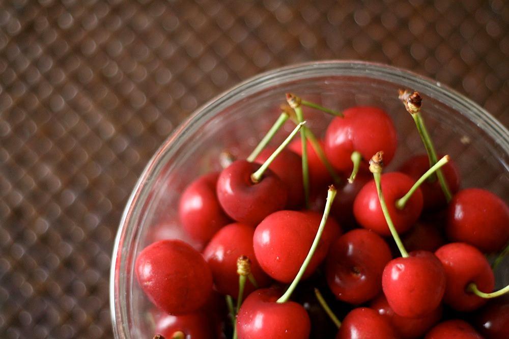 Wiśnie zawierają sporo antyoksydantów