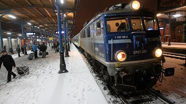 Pociąg, zdjęcie ilustracyjne