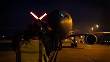 Latająca cysterna KC-46 firmy Boeing