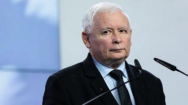 Prezes Prawa i Sprawiedliwości Jarosław Kaczyński.
