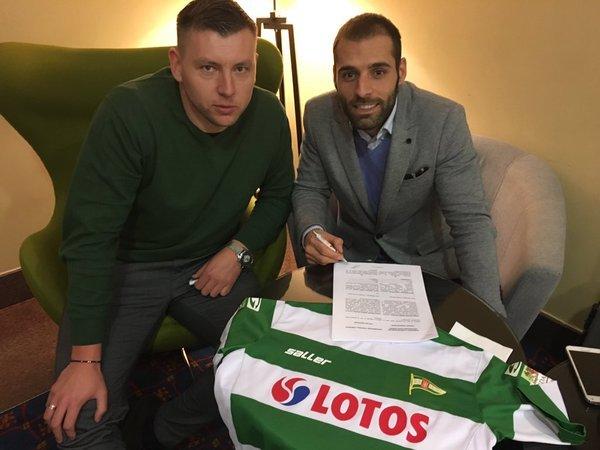Flavio Paixao od lipca będzie piłkarzem Lechii