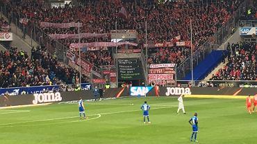 Skandaliczny transparent kibiców Bayernu