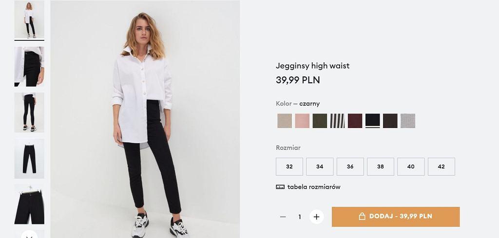 Na punkcie tych spodni oszalały kobiety na całym świecie. Kupicie je w klepach Sinsay za 40 zł. Ich krój wyszczupla