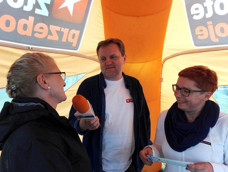 rozmowa ze słuchaczką podczas programu 'Złote Przeboje na Wakacjach'