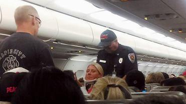 Turbulencje w samolocie linii JetBlue