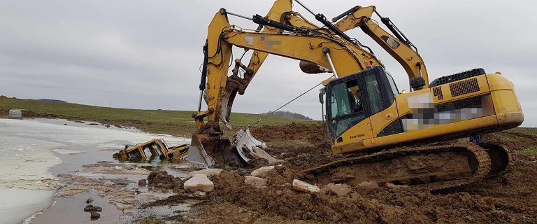 Śmiertelny wypadek na budowie Via-Baltica. Nie żyje operator spycharki