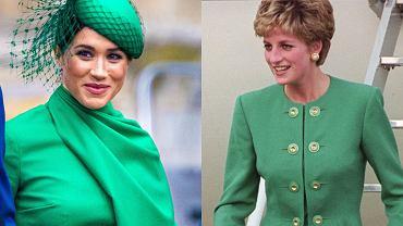 Meghan Markle i księżna Diana