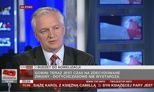 Jarosław Gowin w TVP Info