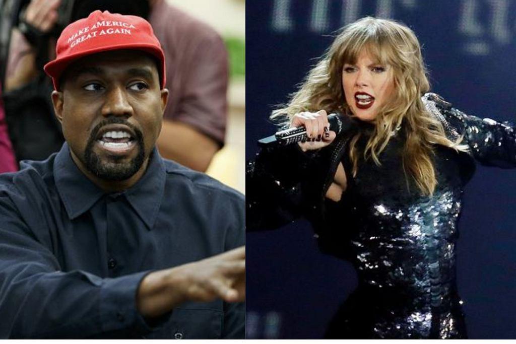 Kanye West i Taylor Swift