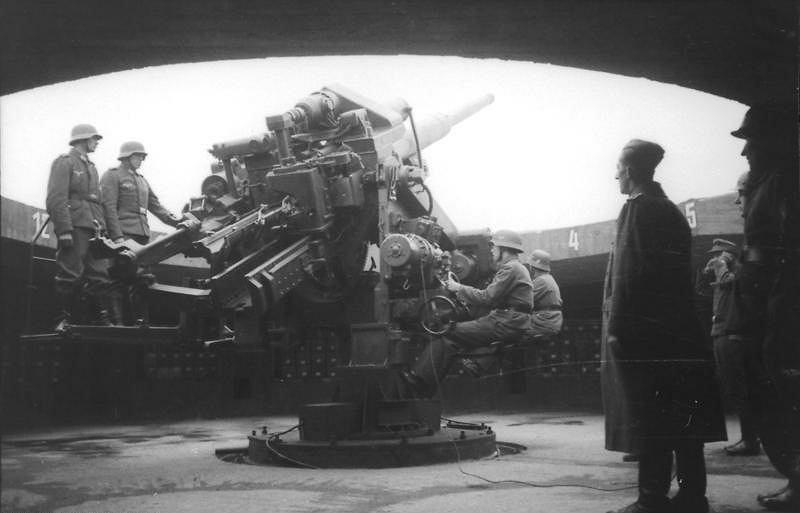 Działo przeciwlotnicze kaliber 128 mm
