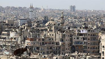 Zniszczenia w Aleppo