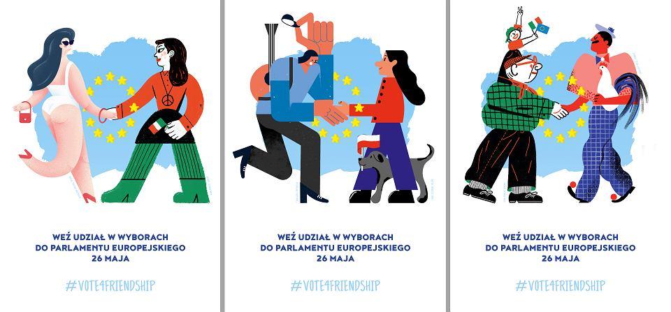 Eurowybory 2019 Plakaty Zachęcają Młodych Do Głosowania Na