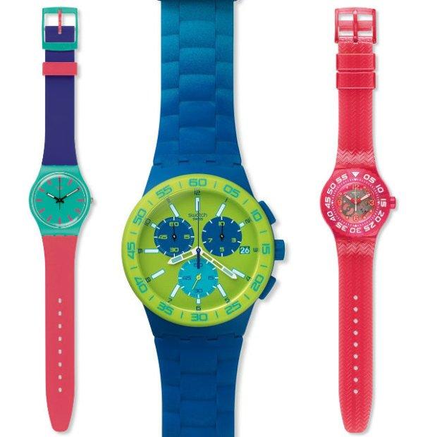 sportowy zegarek dla chłopca swatch