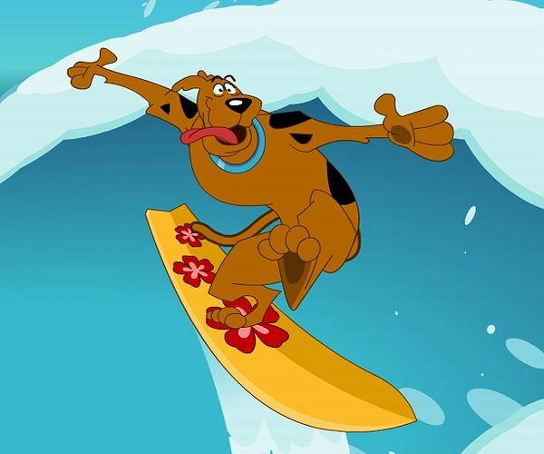 Scooby Doo na fali